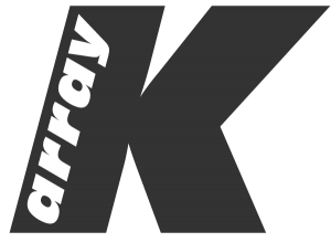 k-array black logo