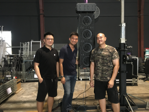 K-array KH7 with Jason, Sean, Anthony
